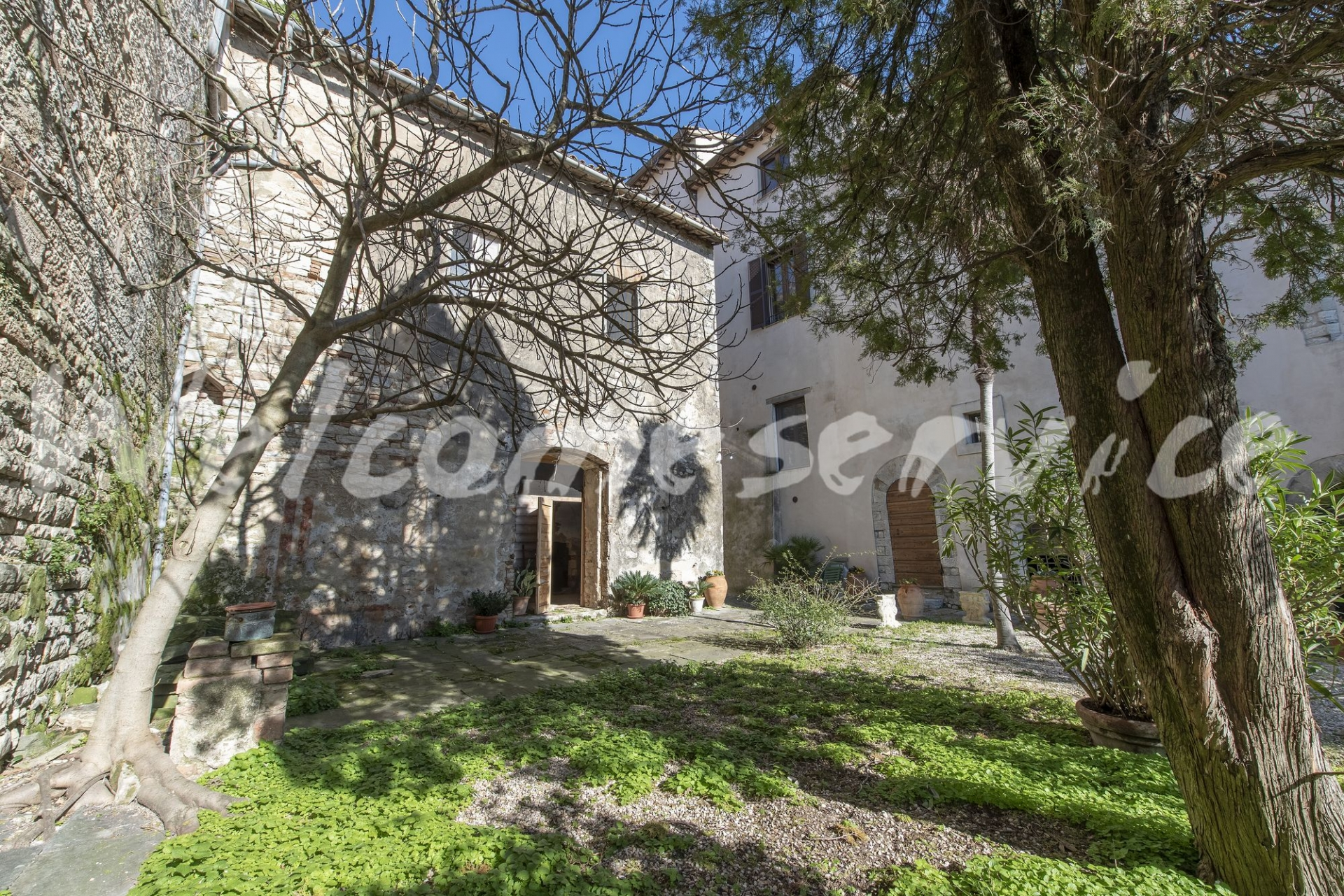 house with garden for sale todi